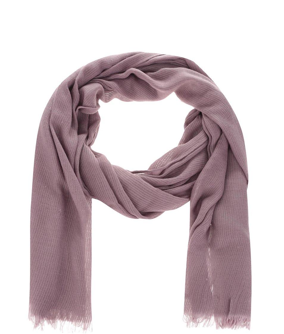 Světle fialový šátek ONLY Luvre