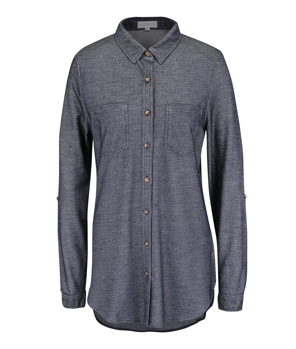 Modrá košile Apricot