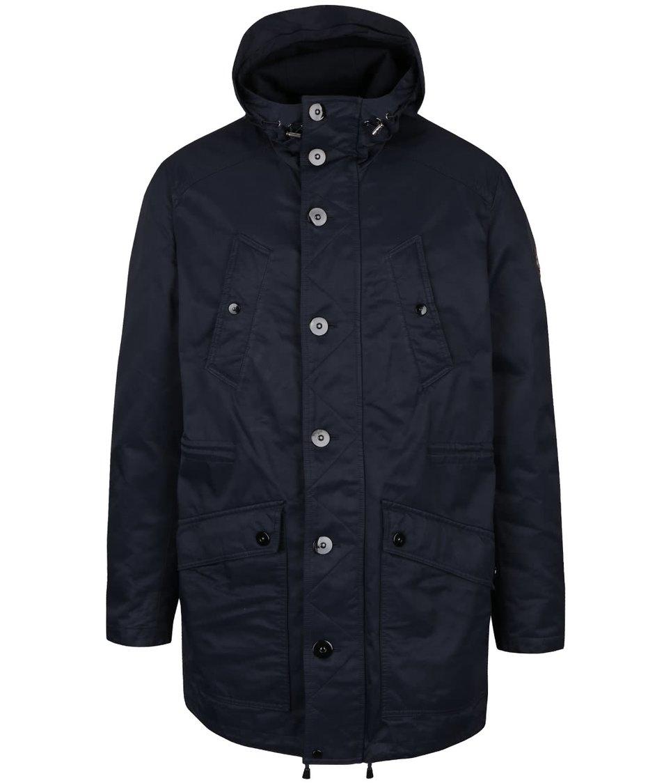 Tmavě modrá bunda Fynch-Hatton