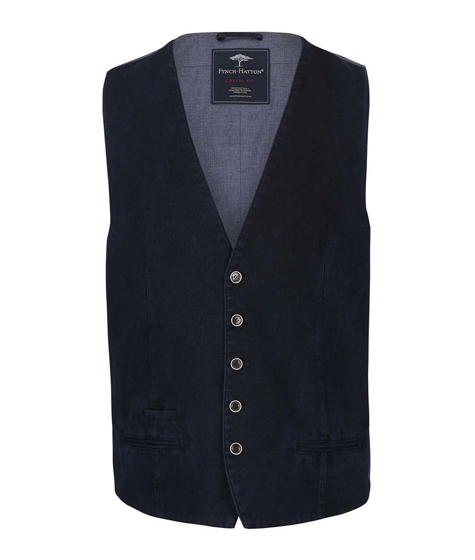 Modrá vesta Fynch-Hatton