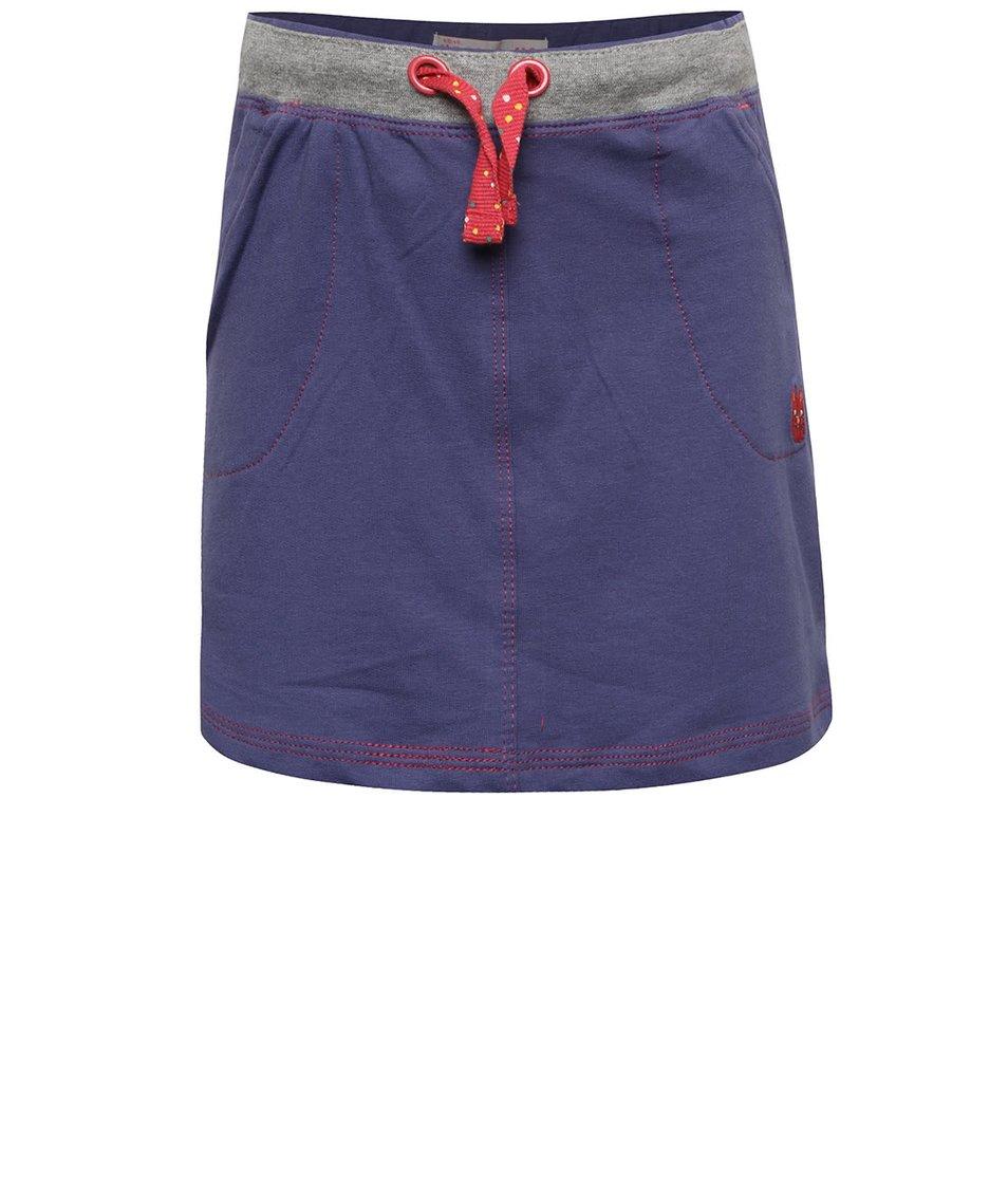 Modrá holčičí tepláková sukně 5.10.15.