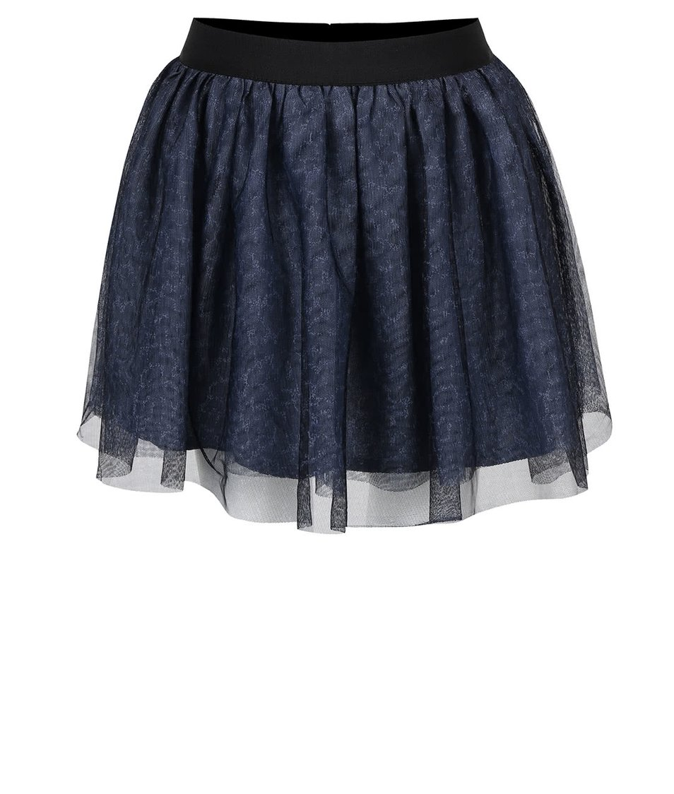 Tmavě modrá holčičí tylová sukně Name it Watina