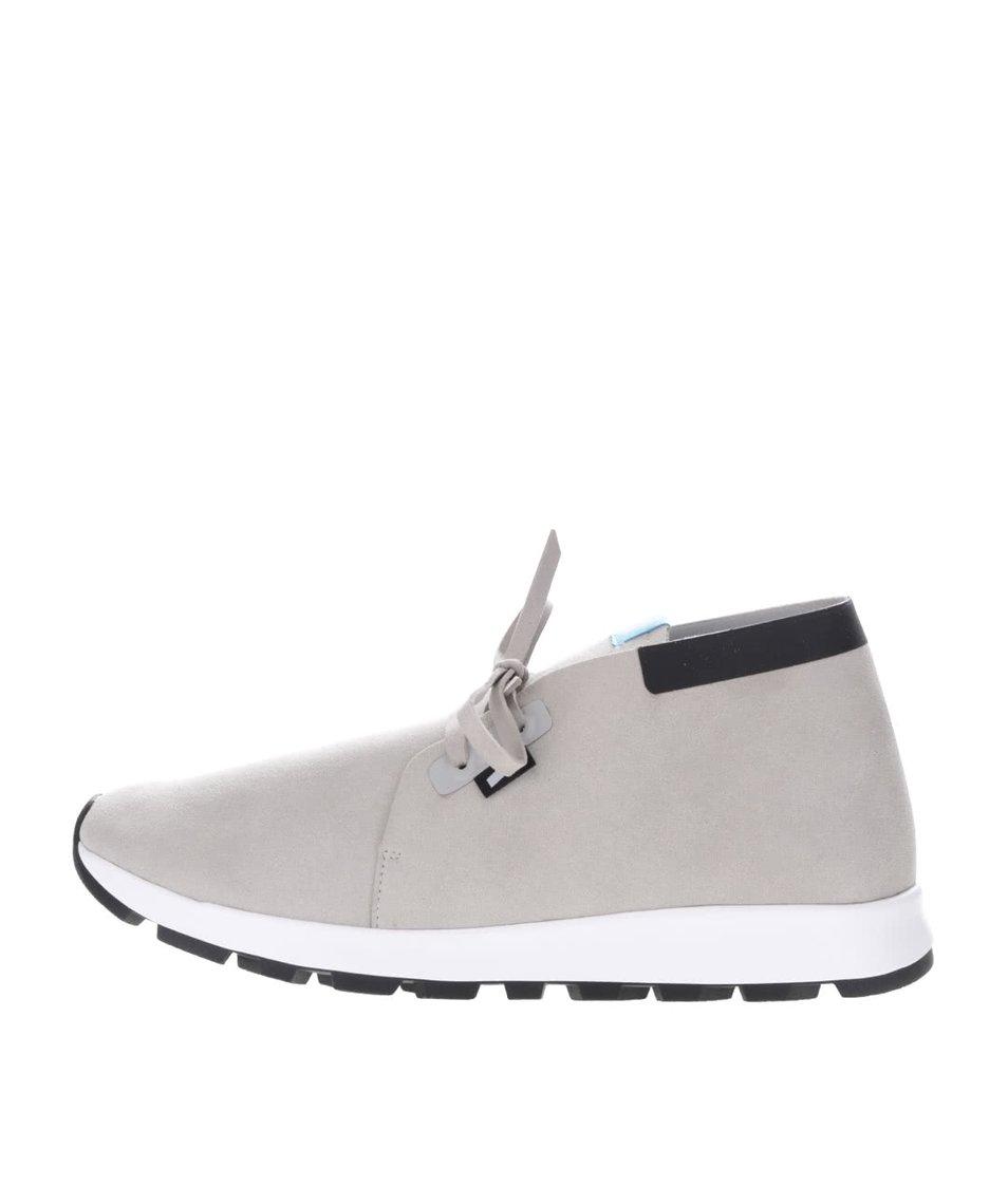 Šedé pánské kotníkové lehké boty Native