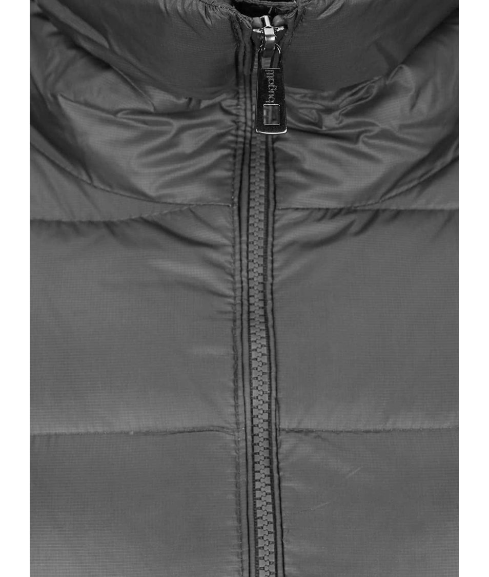 Šedý dámský prošívaný kabát Bugatti - SLEVA!  007009f499