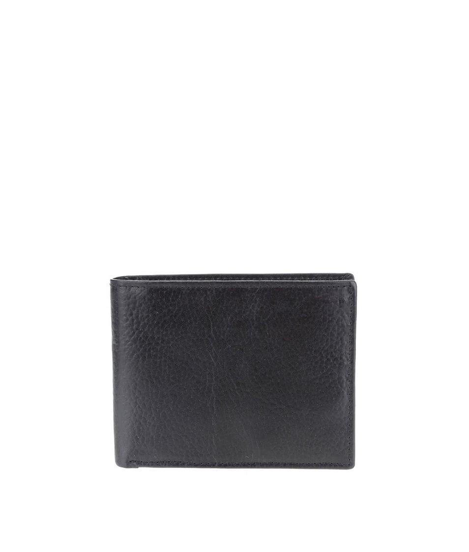 Černá pánská kožená peněženka Clarks Rook