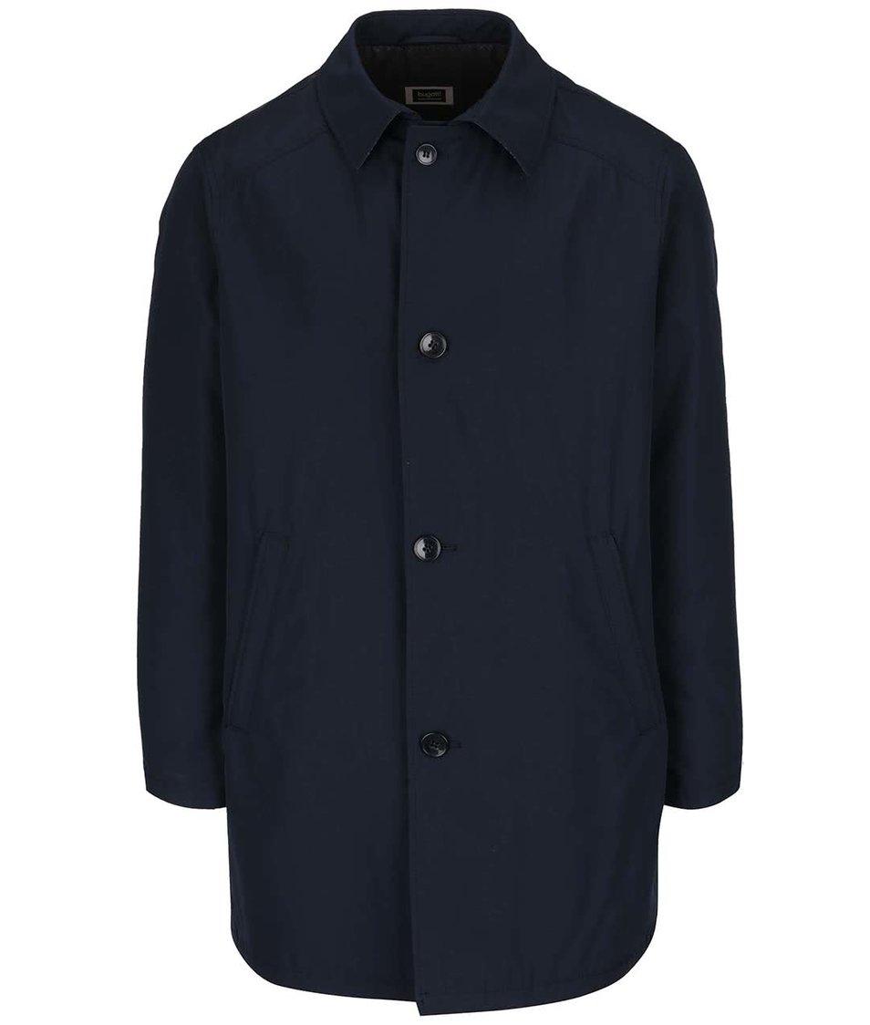 Tmavě modrý kabát bugatti