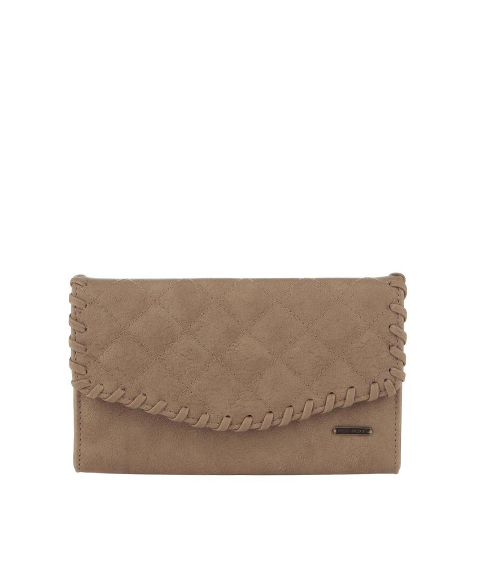 Světle hnědá peněženka Roxy Birdcage