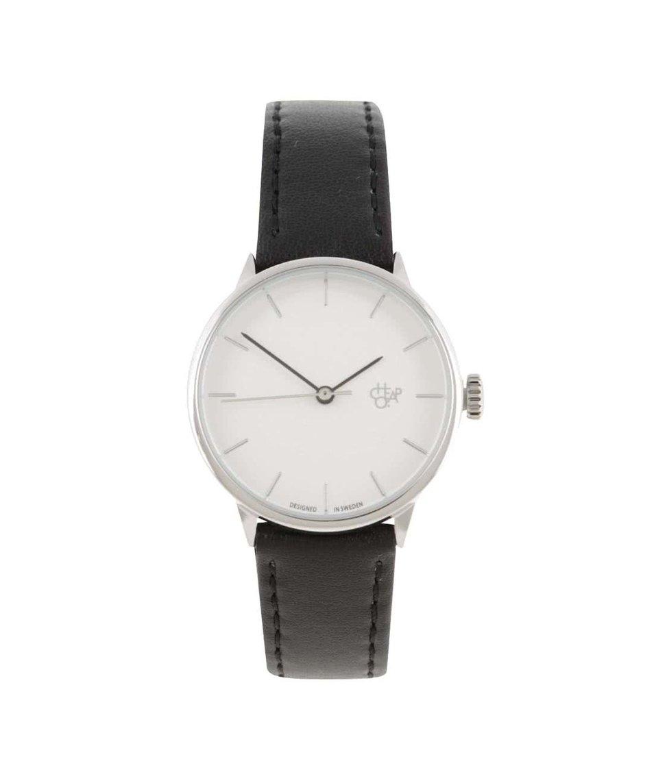 Černé dámské veganské hodinky Cheapo Khorshid Mini Silver