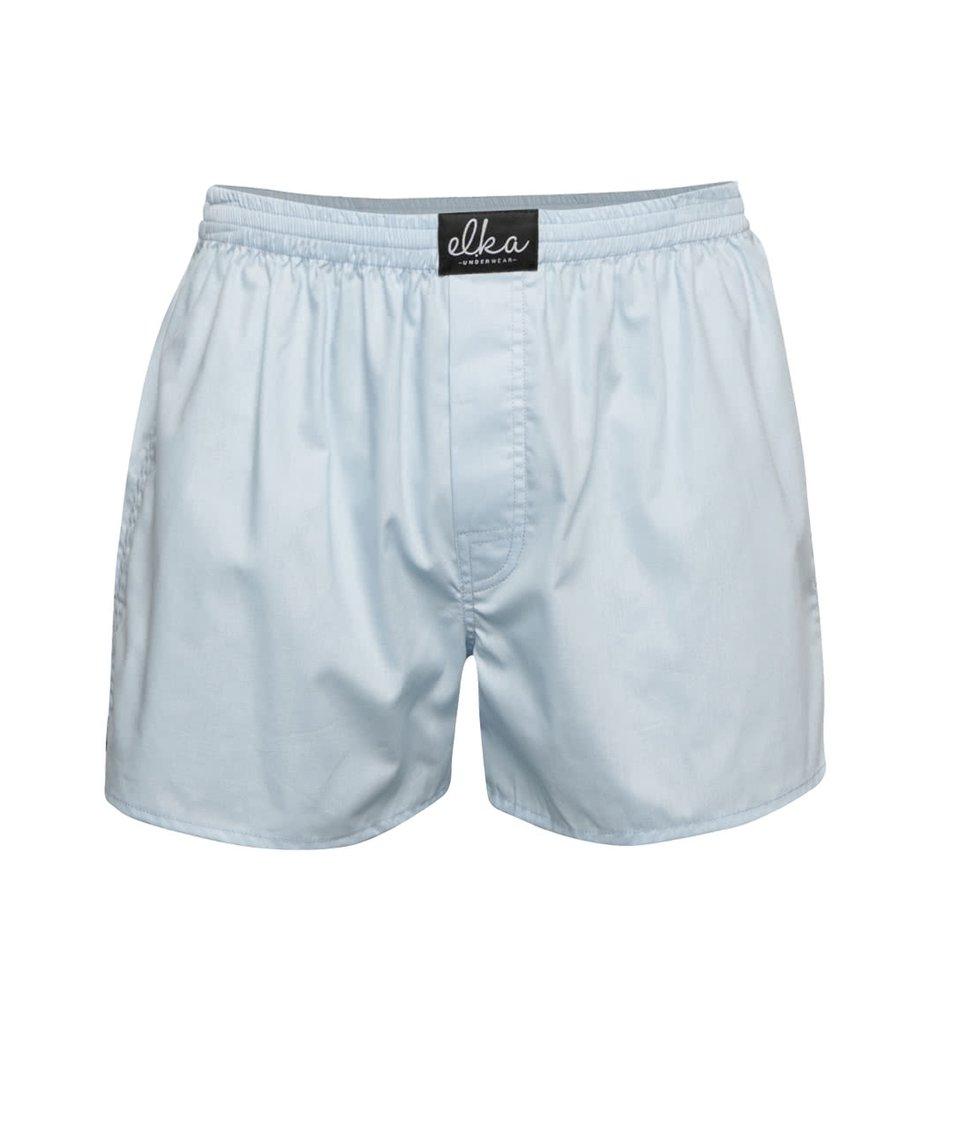 Světle modré pánské trenýrky El.Ka Underwear