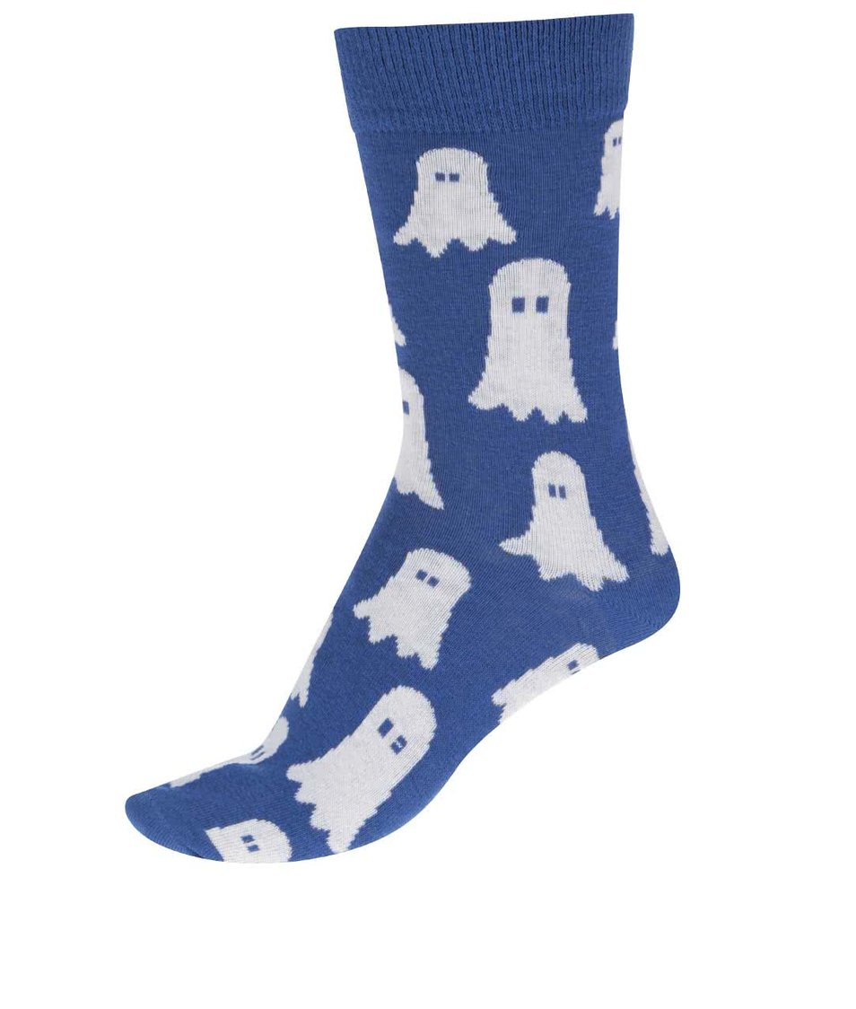 Modré unisex ponožky s bubáky  ZOOT Originál