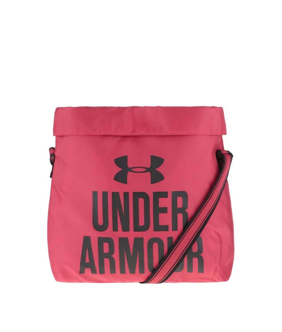 Růžová dámská menší sportovní taška Under Armour