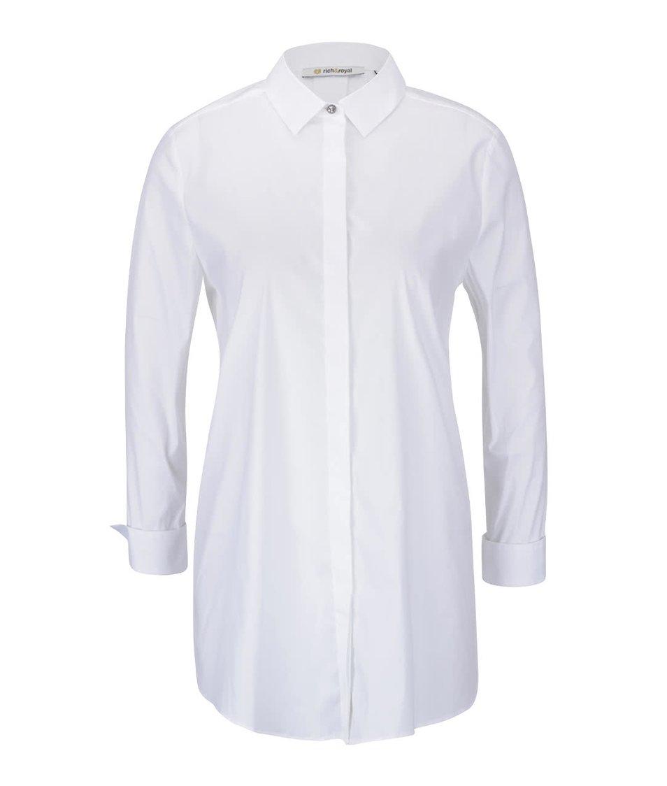 Krémová košile se zapínáním na předním i zadním díle Rich & Royal