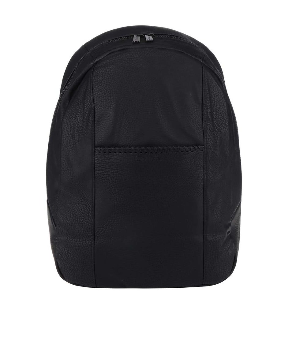Černý unisex koženkový batoh Bench Masterpiece