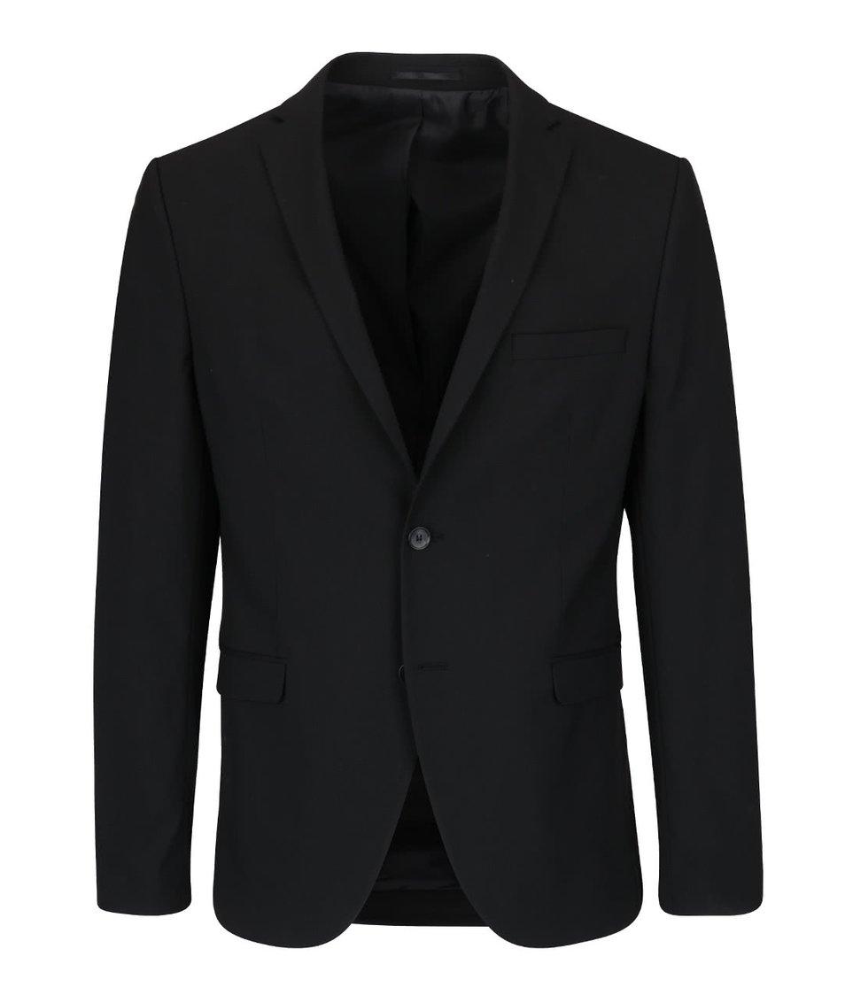 Černé sako Selected Homme Newone