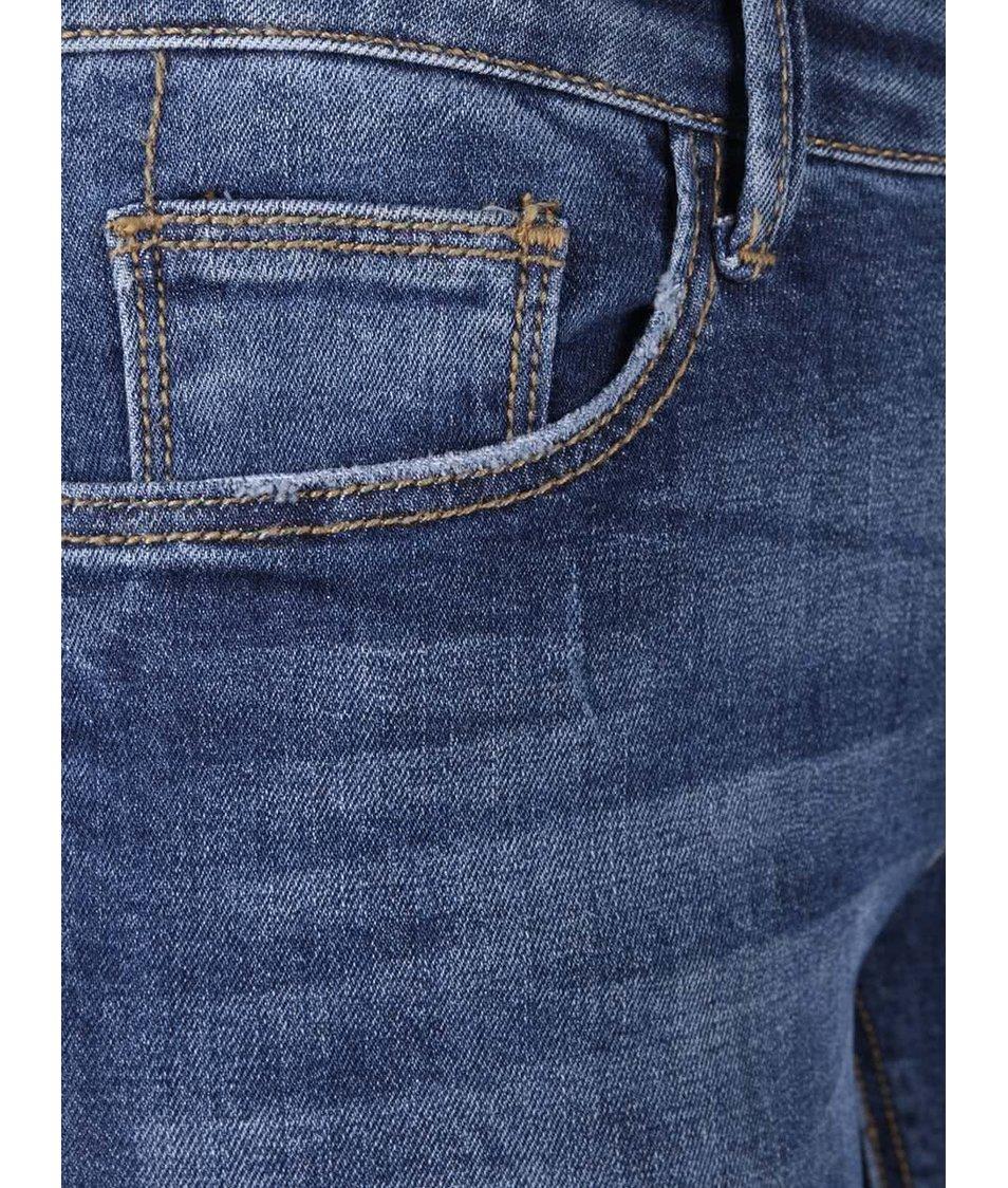 12b085140f2 Modré skinny džíny s potrhaným efektem TALLY WEiJL - Akční cena ...