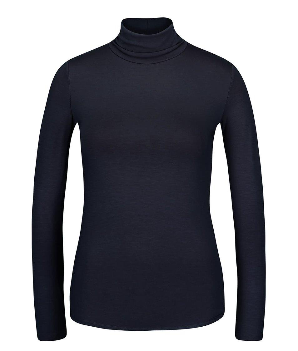 Tmavě modré tričko s rolákem a dlouhým rukávem ZOOT