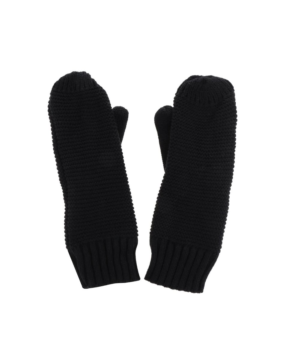 Černé rukavice Pieces Billi