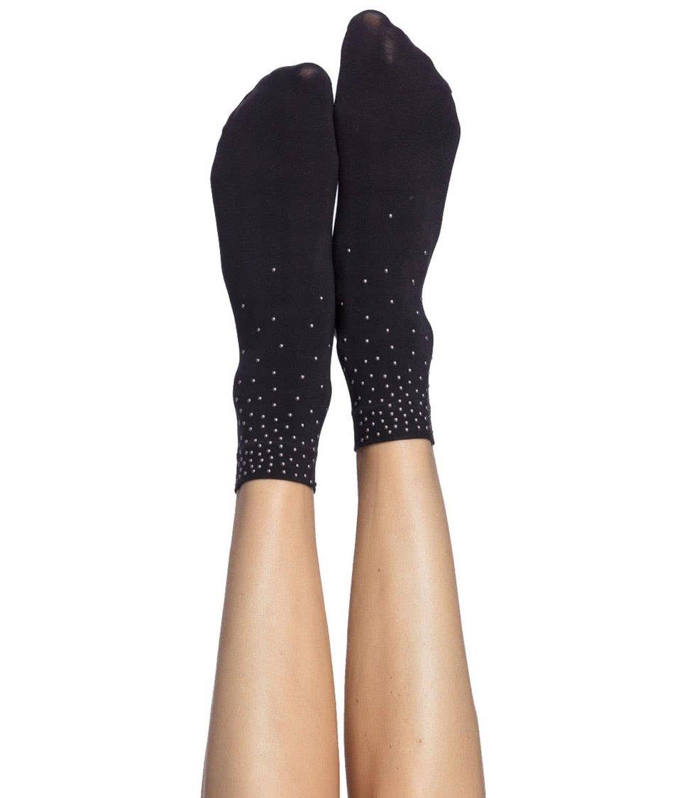 Černé ponožky s aplikací Oroblu Next