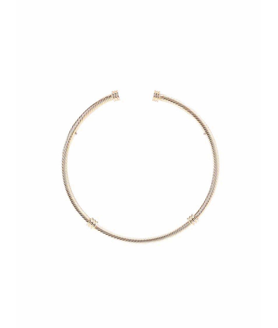 Kovový náhrdelník ve zlaté barvě Pieces Deena
