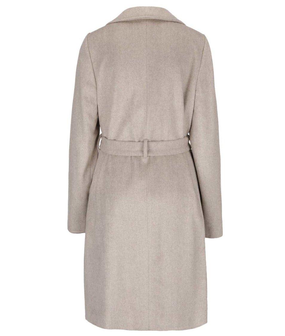 Šedokrémový kabát Dorothy Perkins
