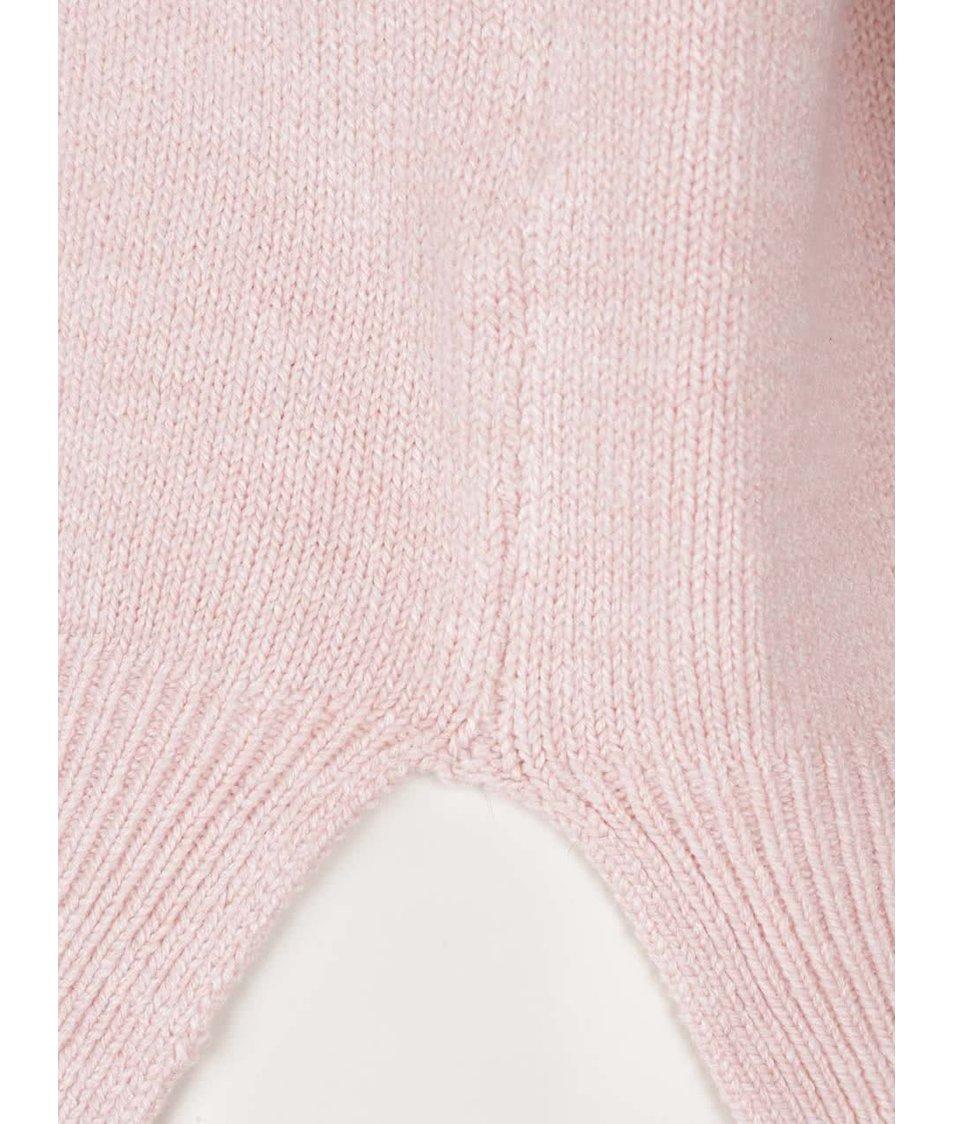Světle růžový rolák s dlouhým rukávem TALLY WEiJL