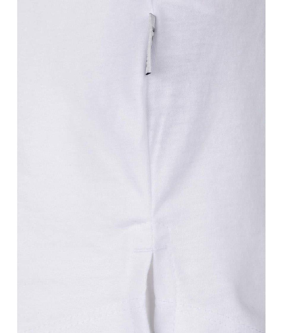 Bílé triko s potiskem Jack & Jones Testament