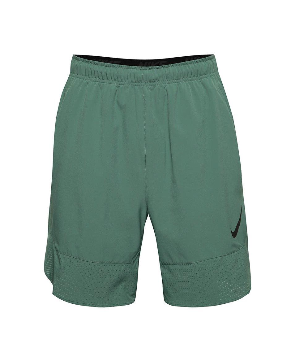 Světle zelené pánské sportovní kraťasy Nike Flex
