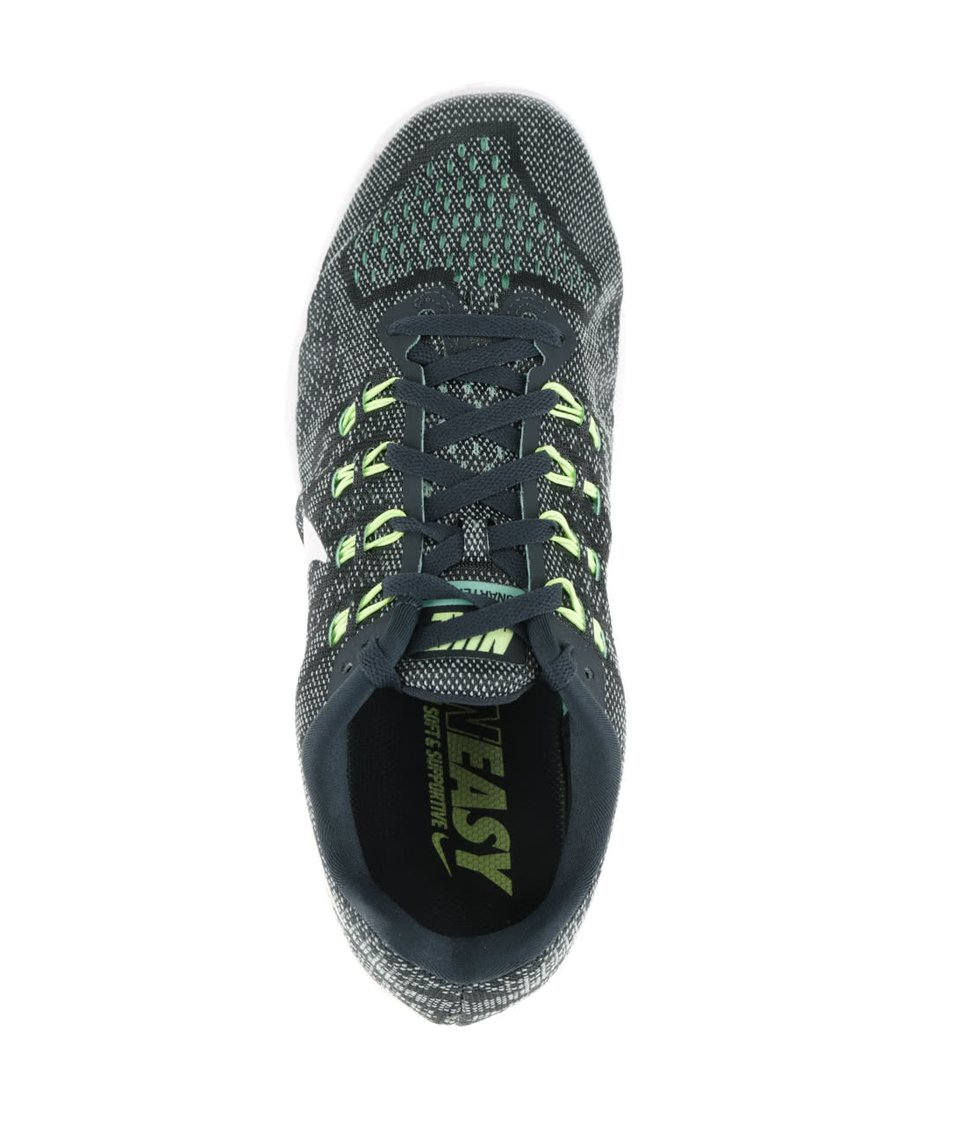 Zelené žíhané pánské tenisky s detaily Nike LunarTempo