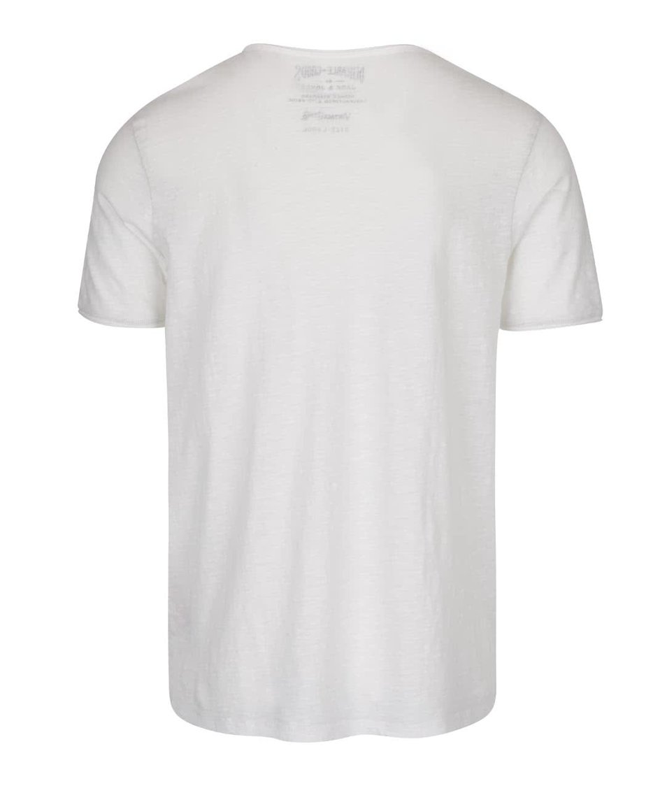 Krémové triko Jack & Jones Marvin