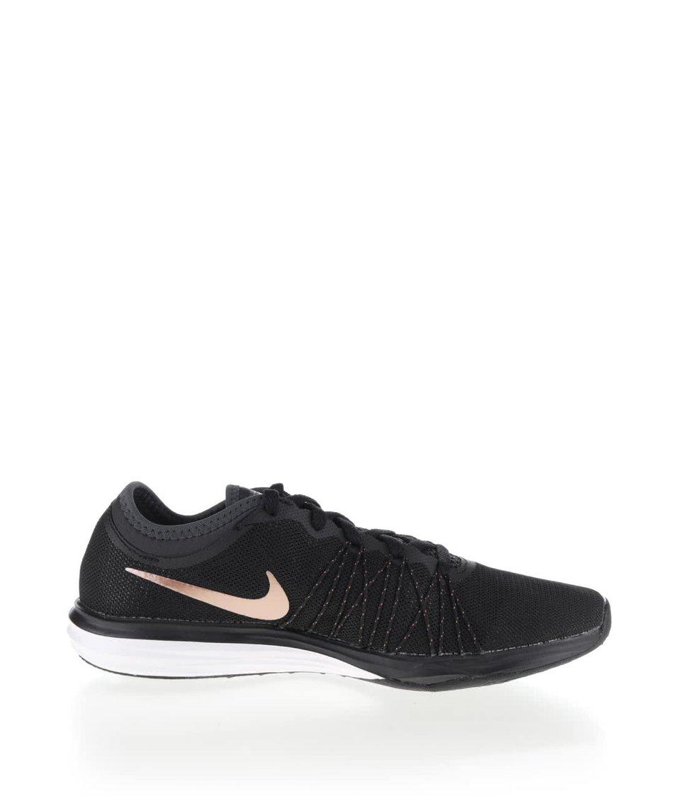 Černé dámské tenisky s detaily Nike Dual