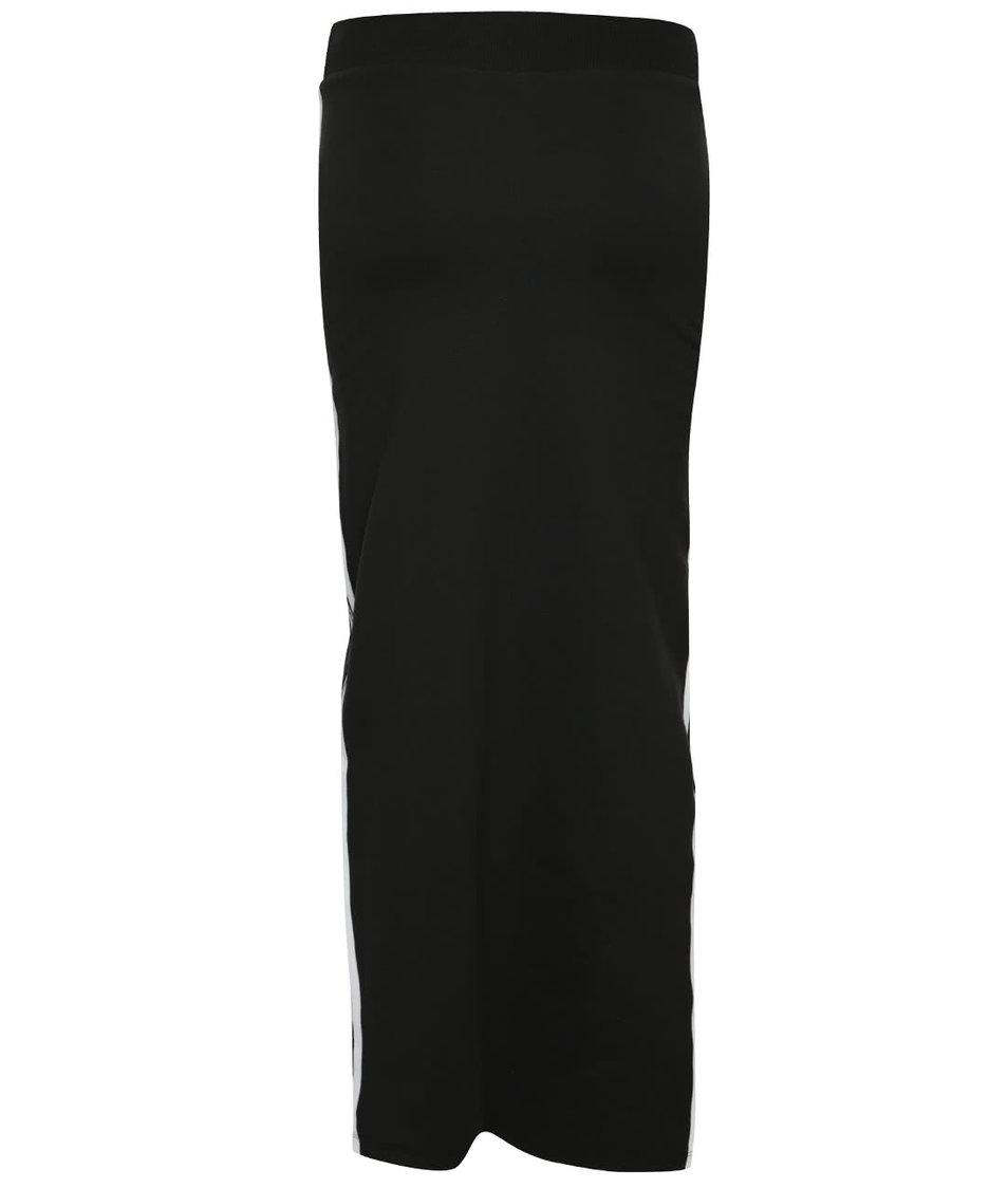 Černá delší sukně adidas Originals