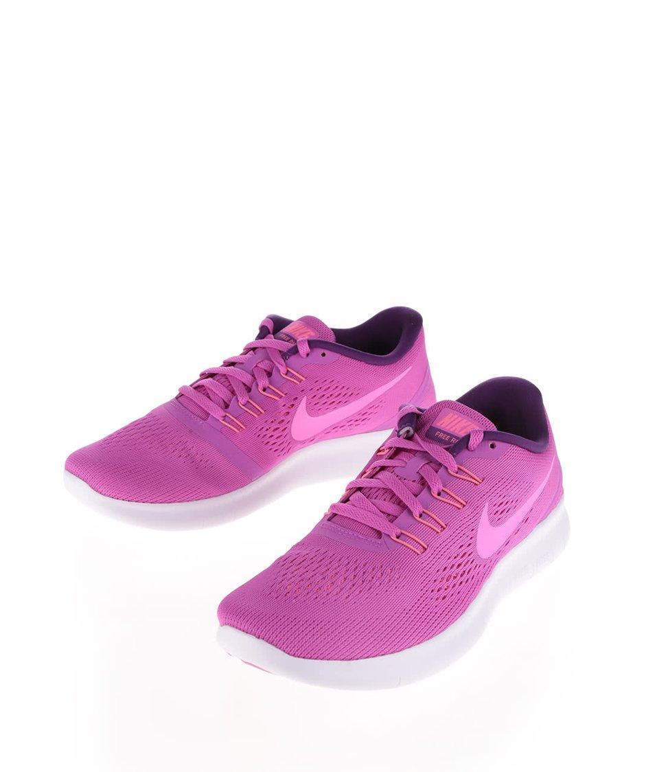 Růžové dámské tenisky Nike Free