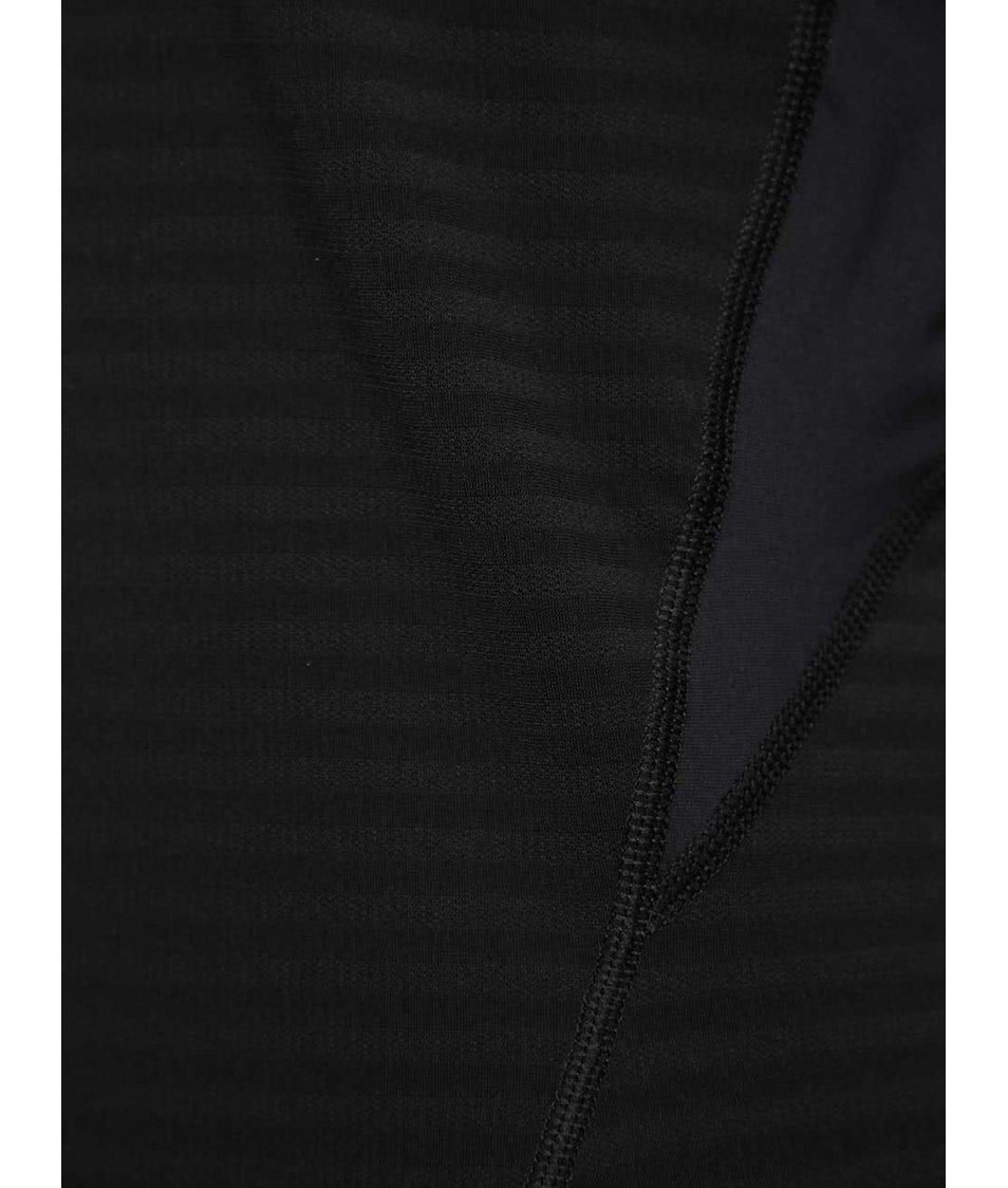 Černé pánské funkční triko s dlouhým rukávem Nike Pro