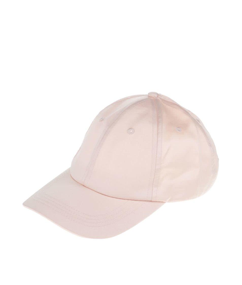 Světle růžová kšiltovka Miss Selfridge