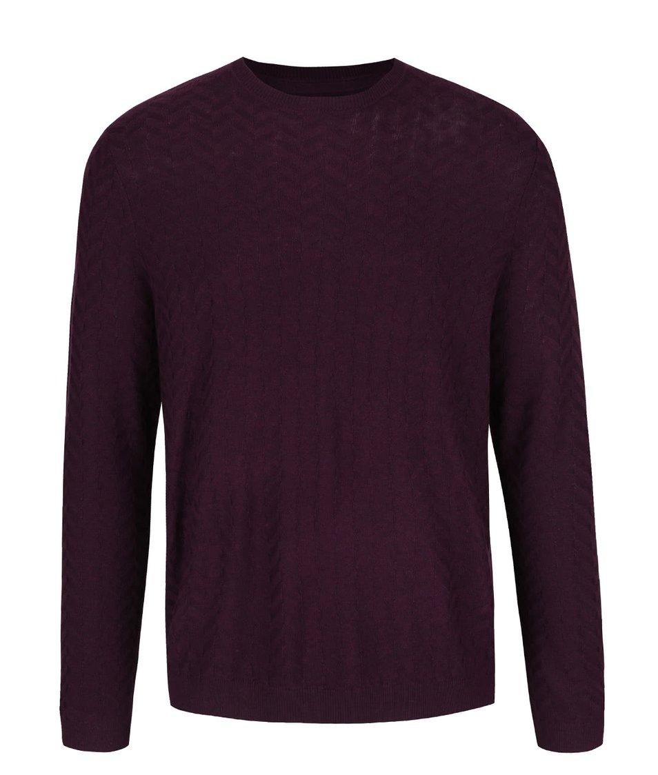 Filalový lehký svetr Burton Menswear London