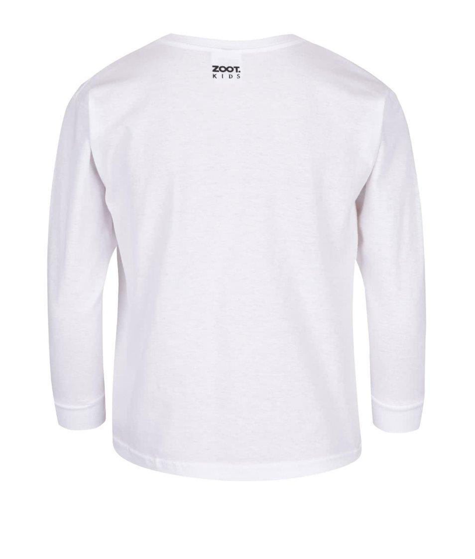Bílé dětské unisex tričko s potiskem ZOOT Kids Počítání