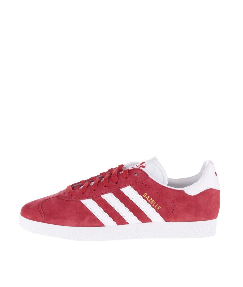 Červené pánské tenisky adidas Originals Gazelle