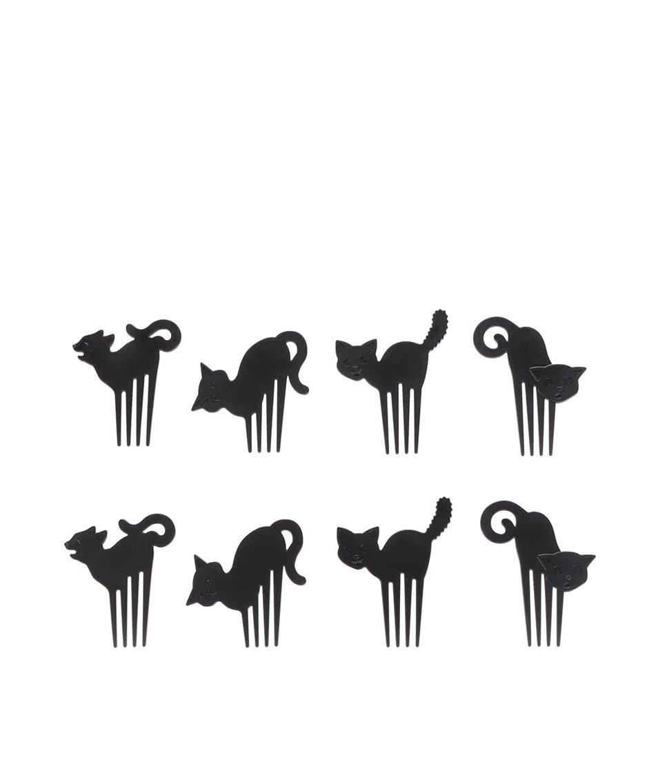 Sada napichovátek na jednohubky ve tvaru kočiček Kitchen Craft
