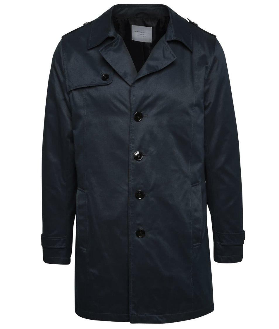 Tmavě modrý kabát Selected Homme New Adams