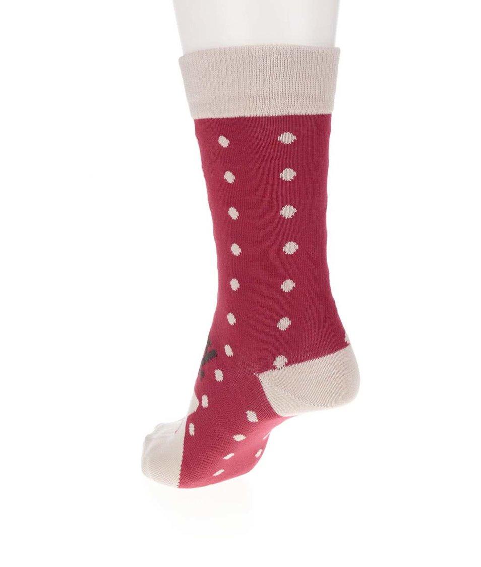 Červené ponožky s motivem soba ZOOT Originál