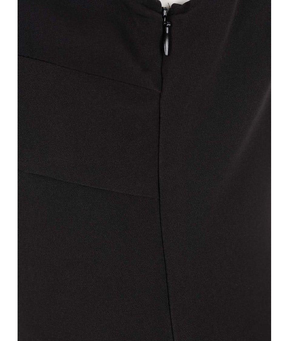 Černé šaty s krajkou ONLY Vanilla
