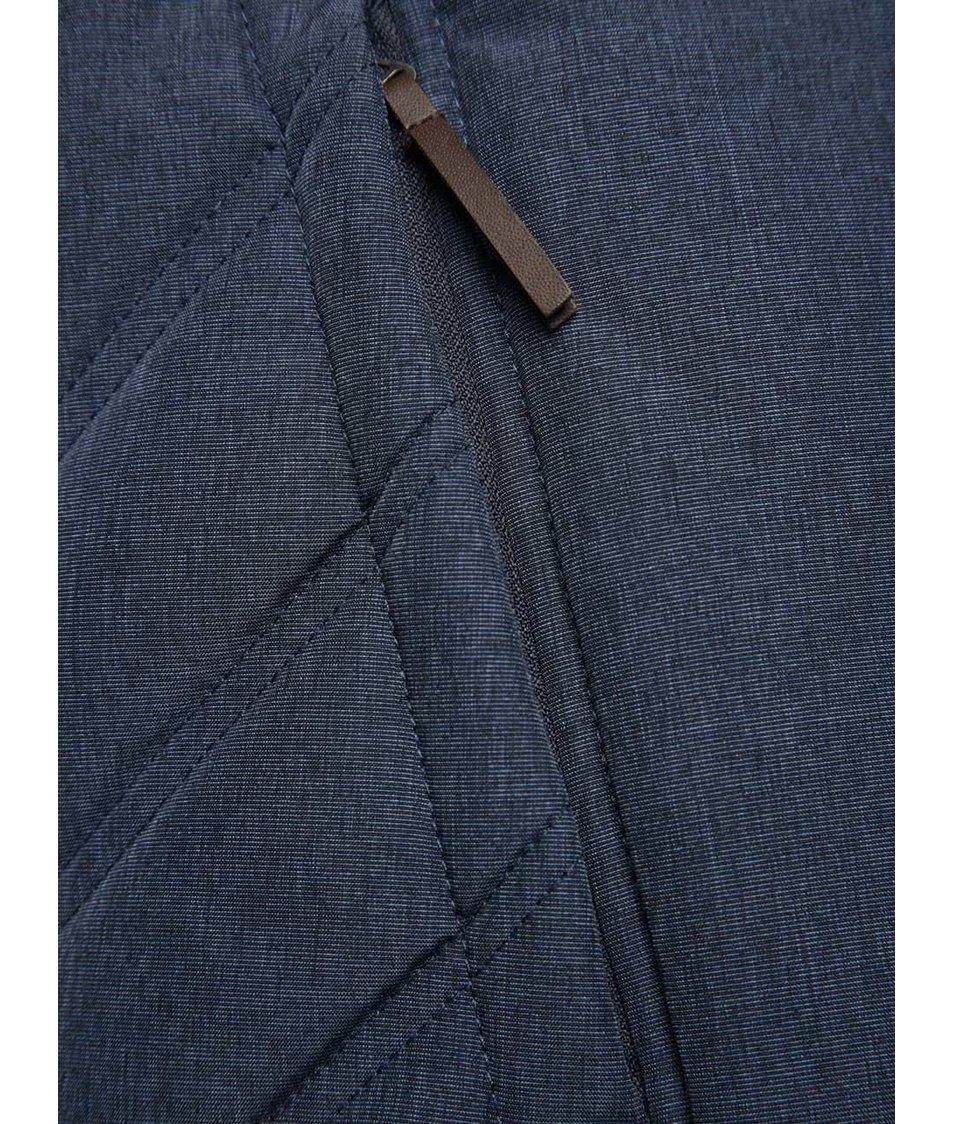 Modrá dámská prošívaná zimní bunda Ragwear Agata