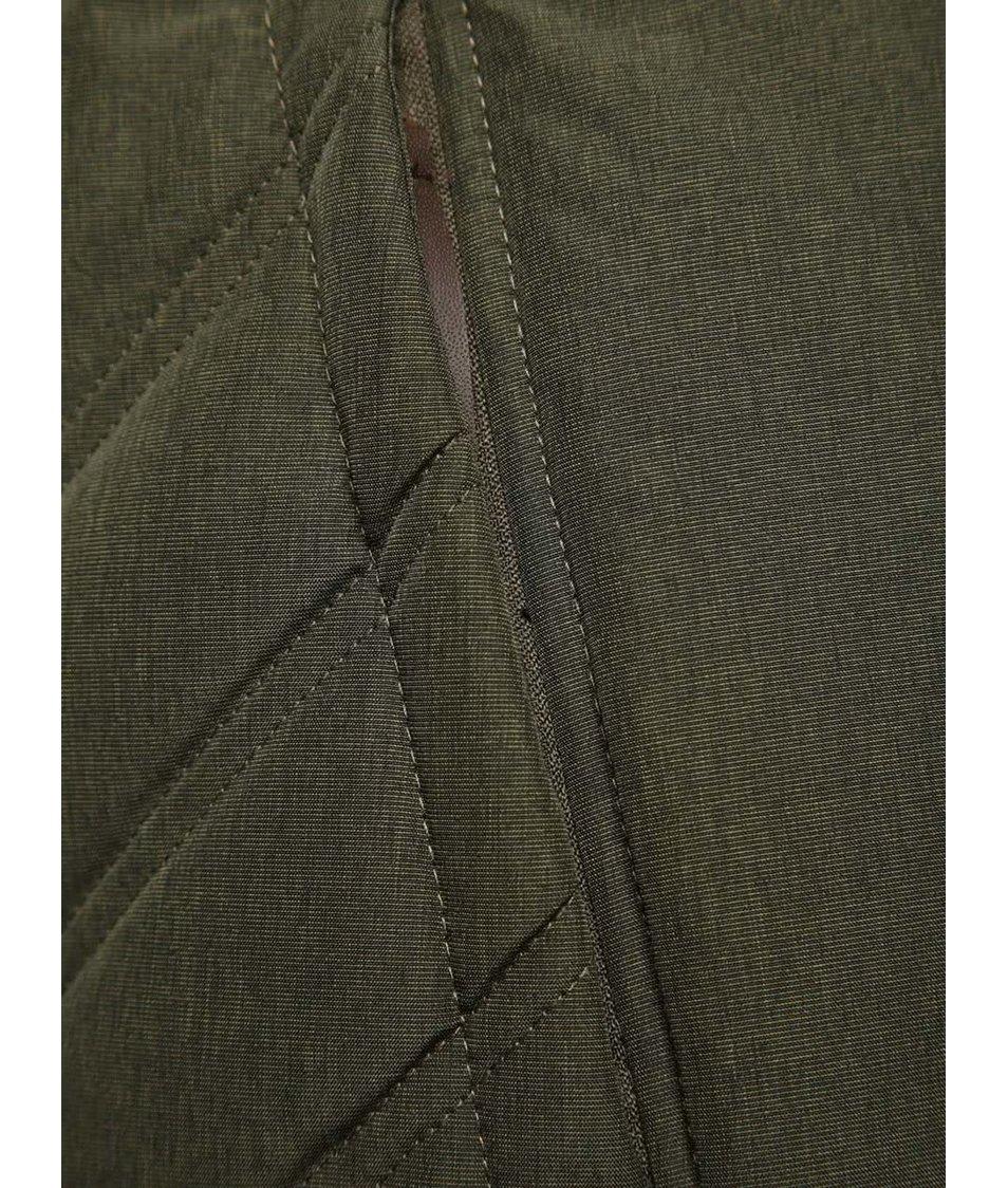 Khaki dámská prošívaná zimní bunda Ragwear Agata