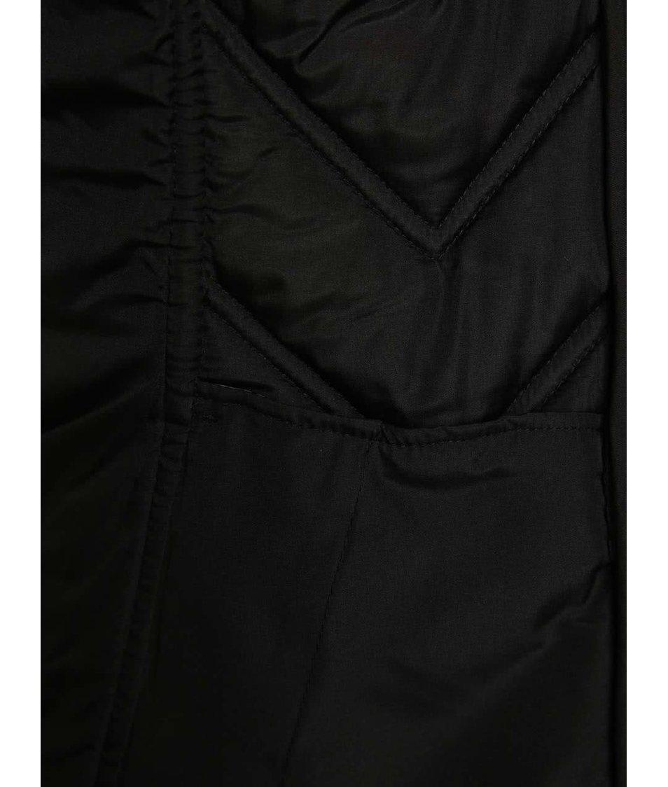 Černá dámská prošívaná zimní bunda Ragwear Agata
