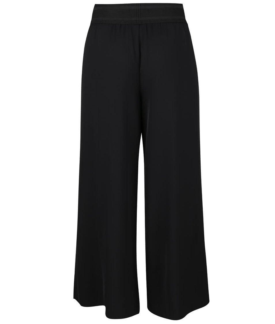 Černé volné kalhoty ONLY Alex