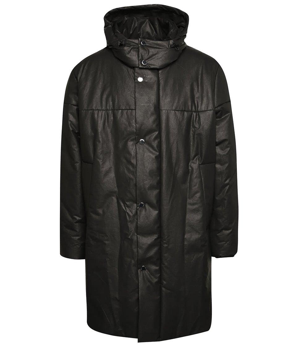 Šedý pánský kabát s kapucí Pietro Filipi