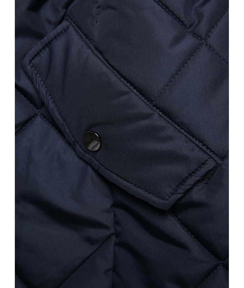 Modrá prošívaná bunda PEP Skala