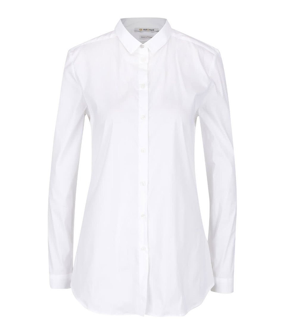 Krémová košile s dlouhým rukávem Rich & Royal