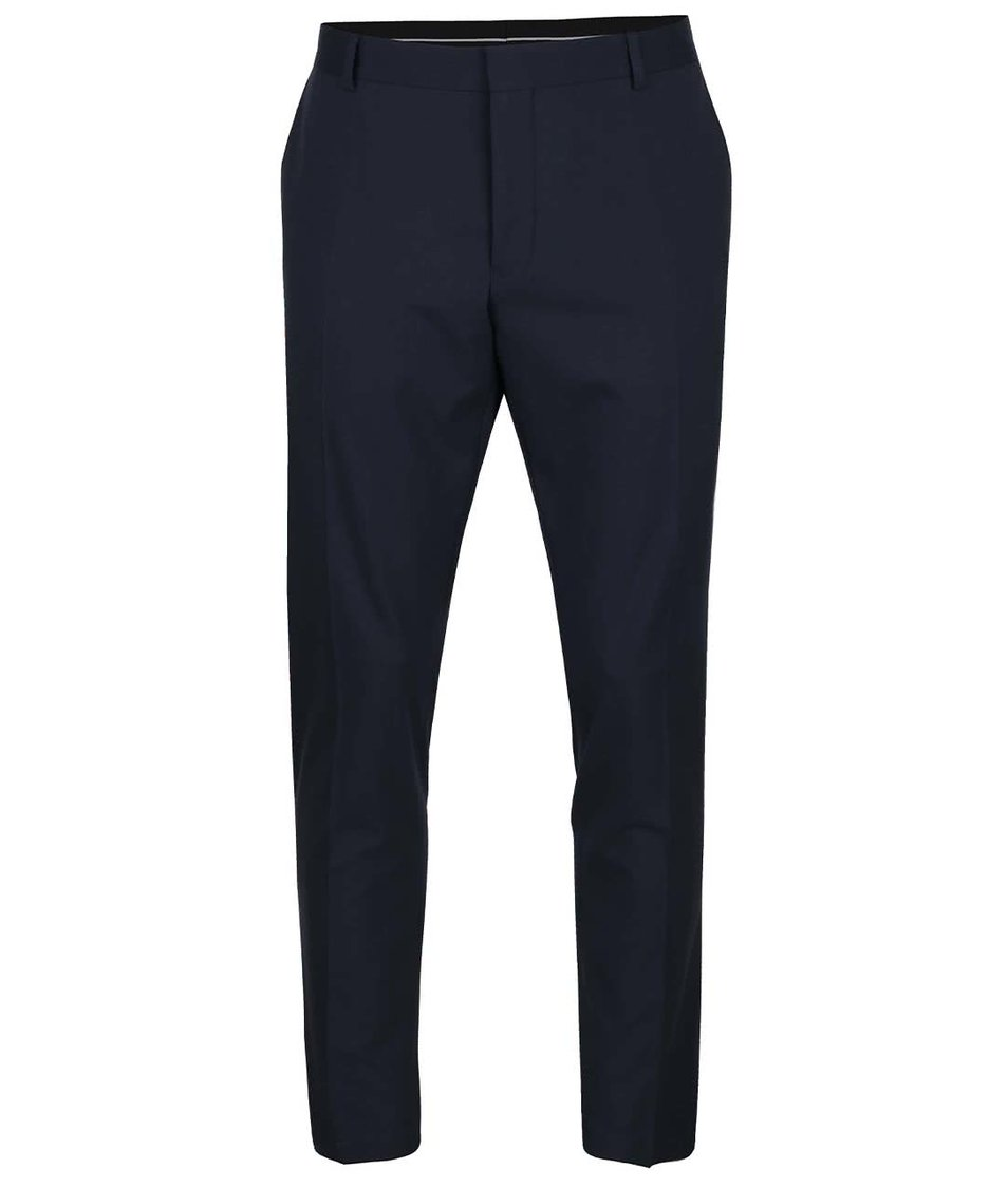 Tmavě modré formální kalhoty Selected Homme Done-Elilogan