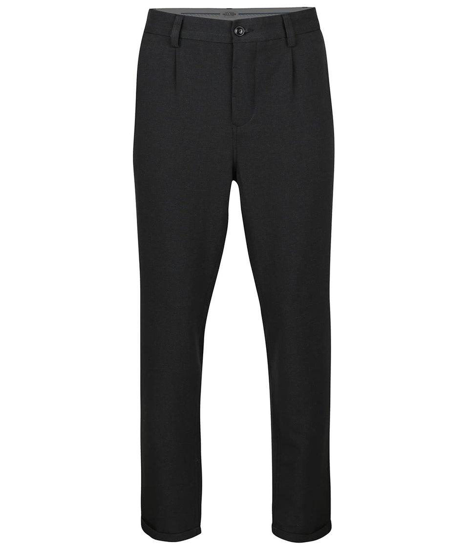 Tmavě šedé kalhoty Jack & Jones Robert